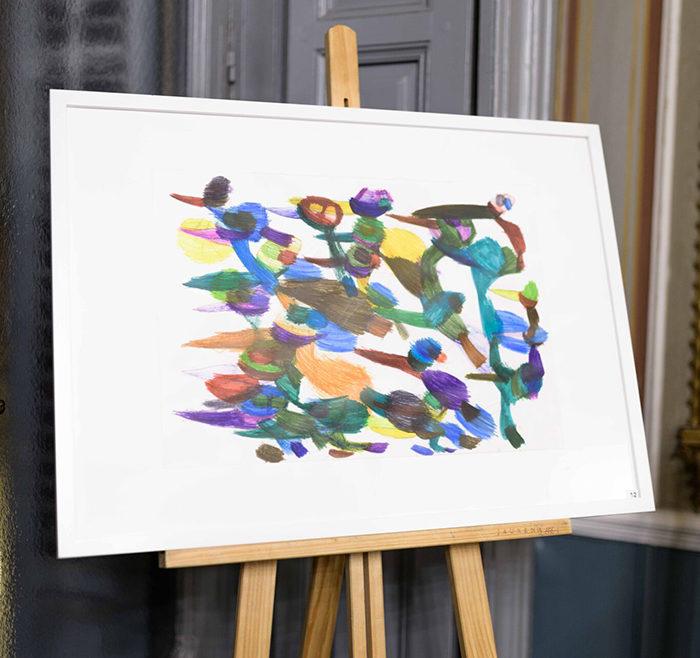 Obras subastadas de artistas de Debajo del Sombrero