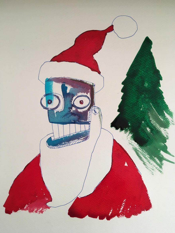 Pop Art Navideña solidaria en favor de la ONG Kubuka